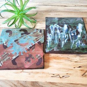 Terracotta Art Plaques / Trivets